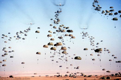 Photo of A zionist succes story: Over 40 zionist israeli Paratroopers Injured during Exercise