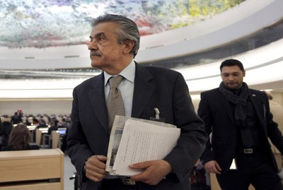 Photo of Syrian Delegation Walks out from UN Human Rights Council Session in Geneva Describing its Discussions as Futile