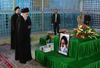 Photo of Video- Supreme Leader attended the holy mausoleum of the late Imam Khomeini