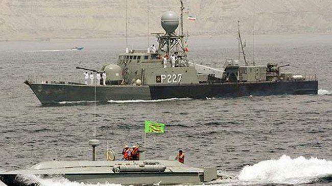 Photo of Iranian naval ships dock at Saudi port
