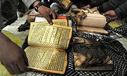 Photo of Islamist Organization Urges Muslims to Show Extensive Reaction to Great Satan US Quran Burning