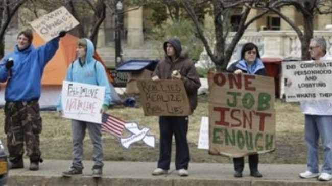 Photo of 10 nabbed in US police raid on Occupy Buffalo protest