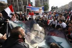 Photo of Video- Syrians hold pro-Assad rally