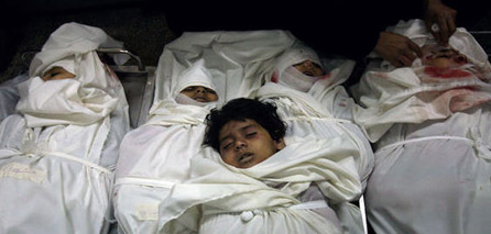 Photo of 7-years child martyred due to wounds in the last zionist Occupation Israeli offensive