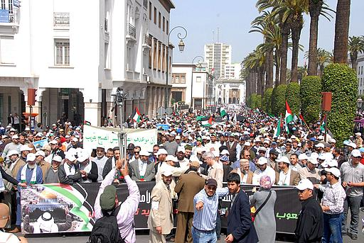 Photo of Photo- Massive march in solidarity with Jerusalem in Morocco