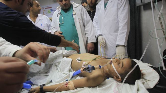Photo of Slaughterer Israeli forces injure six-year-old Palestinian boy