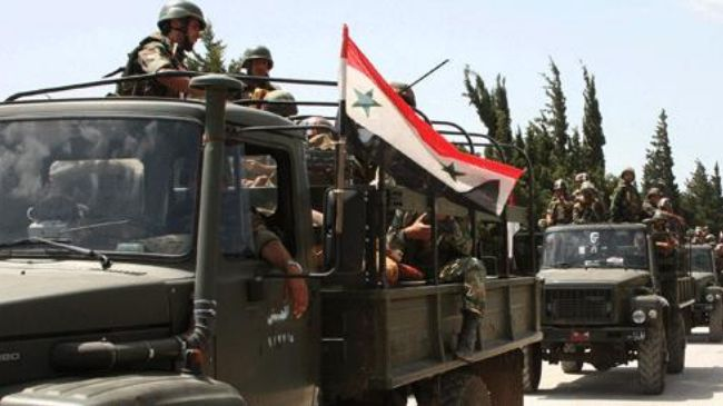 Photo of 130 U.S-backed rebels surrender to Syrian authorities