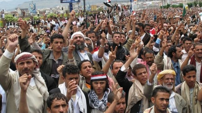 Photo of Zionist Servant Yemeni troops attack protesters in Taizz, martyred 2