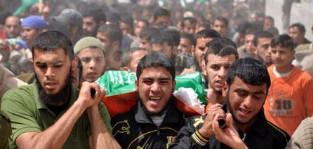 Photo of Al Qassam mourns the Martyr of Qassam member Ahmed Abu Warda