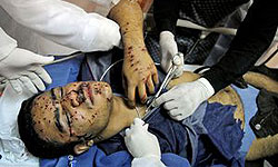 Photo of Zionist Puppet and Saudi-backed Bahraini Regime martyred one civilian