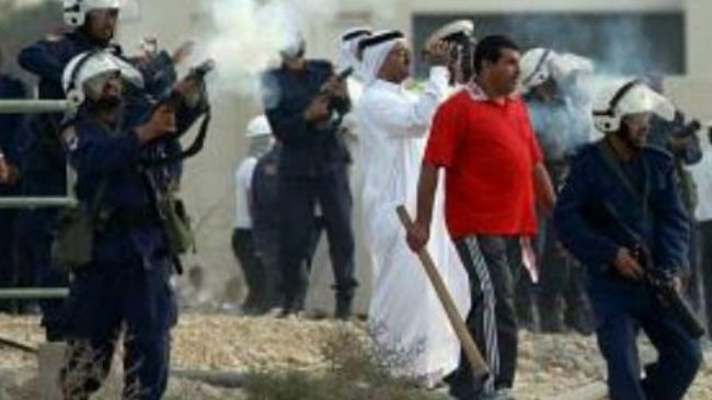 Photo of Zionist Puppet Bahraini regime thugs attack anti-government villages