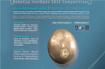 Photo of Int'l RoboCup Competion 2012 opens in Iran