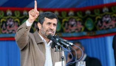 Photo of President Ahmadinejad: Minority plunder wealth of majority