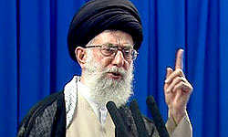 Photo of The Leader of Islamic Ummah and Oppressed People Imam Sayyed Ali Khamenei: Certain officials' apathy will not derail Iran's movement