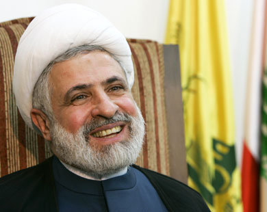 """Photo of Sheikh Qassem Stresses Right of Palestinians, Importance of Confronting """"Israeli"""" Enemy"""