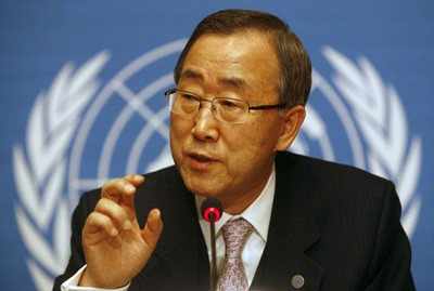 Photo of Ki-moon: al-Qaeda Responsible for Two Suicide Car Bombs in Damascus
