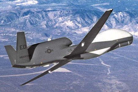 Photo of US terror drone crashes in eastern Afghanistan