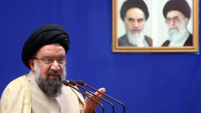 """Photo of """"If the world is really concerned about the global peace, the great danger is the Zionist regime of Israel,"""": Seyyed Ahmad Khatami"""