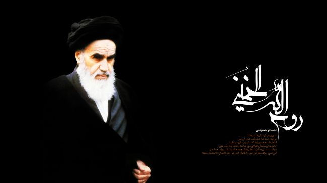 Photo of Imam Khomeini, pioneer of Islamic revival