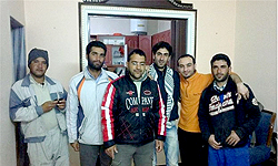 Photo of Two Iranian Engineers Back Home after Six Months of Captivity  by U.S-backed and financed terrorists in Syria
