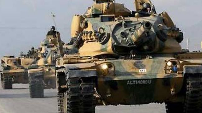 Photo of Video- Turkey governmet deployed a large number of tanks and other armored vehicles to the Syrian border