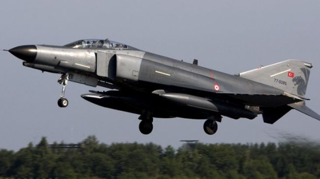 Photo of 'Syrian military downed Turkish jet'