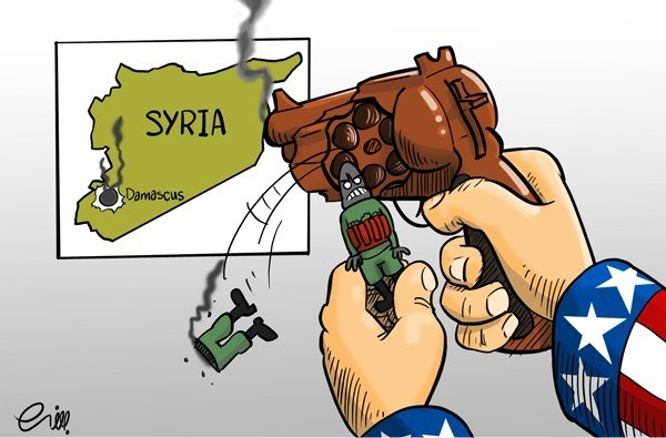 Photo of Great Satan U.S  is facilitating the arms flow on the Turkey-Syria border,