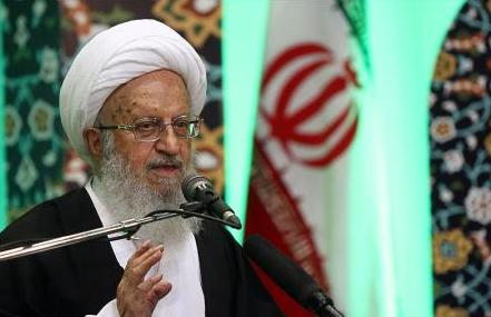 Photo of Grand Ayatollah Shirazi denounces Myanmar massacre