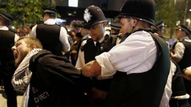 Photo of Mass arrests during London Olympics opening