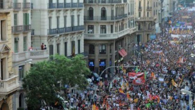 Photo of European Awakening: Spanish workers hold biggest-ever rallies