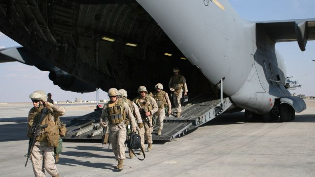 Photo of Great Satan US troops arrive in Yemen al-Anad base