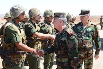 Photo of Syrian Chief of Staff Visits to some Military Locations on Eid al-Fitr