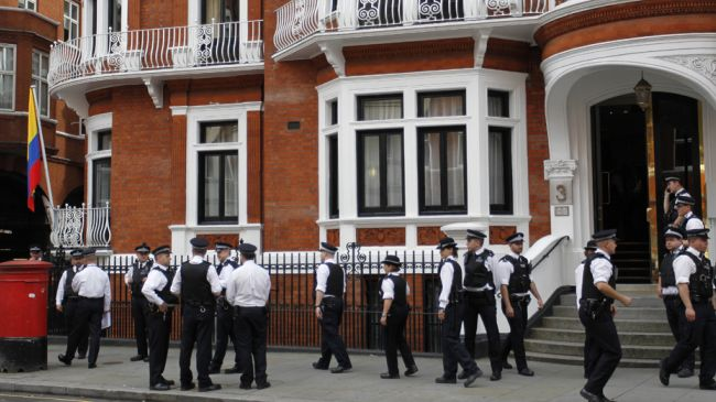 Photo of Assange can stay at Ecuador's London embassy for years: Ecuador