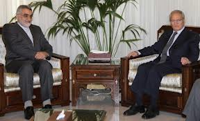 Photo of Boroujerdi discusses latest developments with Syrian Vice-President