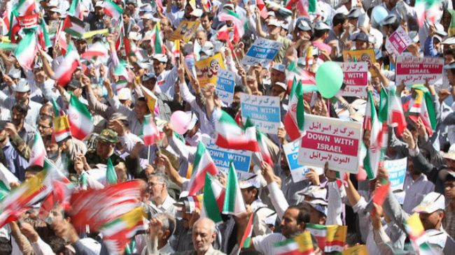 Photo of End of Israel, only solution to Palestinian issue: Iranian demonstrators