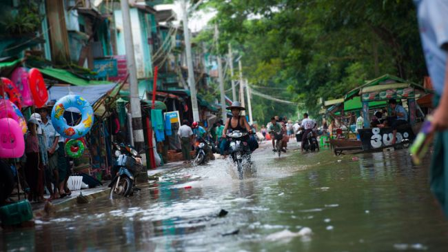 Photo of Myanmar flooding forces 85,000 to flee homes