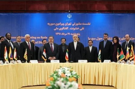 Photo of Tehran's Syria Conference Stresses Need for Settlement