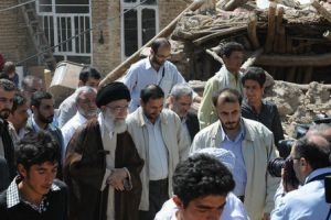 "Photo of ""Tragic Earthquake can be a Catalyst for Real Positive Change"" Leader of Ummah and Oppressed People Imam Khamenei"
