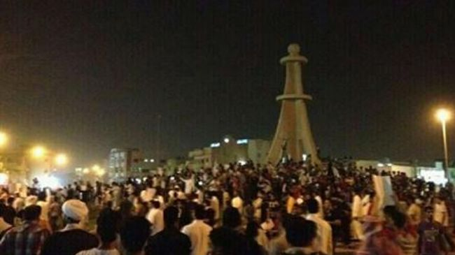 Photo of Saudi protesters call for prisoners' release