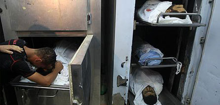 Photo of Slaughterer Israeli airstrike kills 3 Palestinians in central Gaza