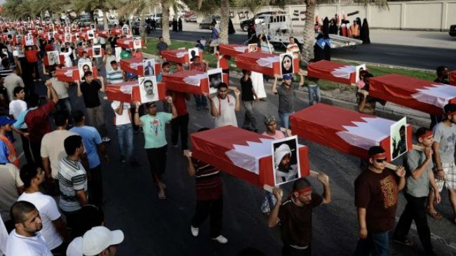 Photo of Bahrainis condemn killing of protester in Sitra