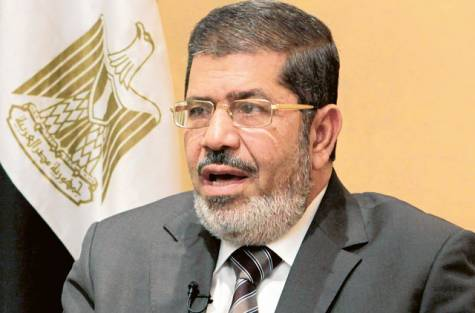 Photo of Egypt's Mursi: Foreign Intervention in Syria 'Big Mistake'