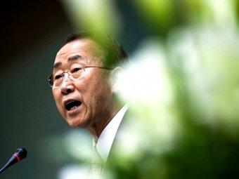 Photo of Ban Ki-moon urges States to stop arming rebels in Syria