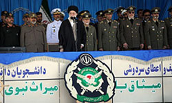 "Photo of Supreme Leader Calls Iran's Military Preparedness ""Deterrent to Enemy Aggression"