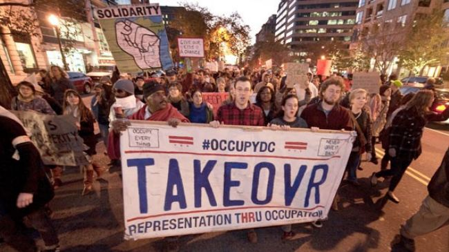 Photo of American Awakening: Occupy DC kicks off Week of Resistance in US capital