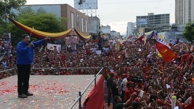 Photo of Chavez vows to continue reforms if reelected