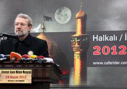 Photo of Iran Rejects Turkey's Patriot Missiles, Larijani Ashoura Speaker in Istanbul