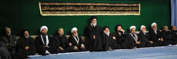 Photo of The Leader of Ummah and Oppressed People Imam Khamenei Attends Ashoura Ceremonies