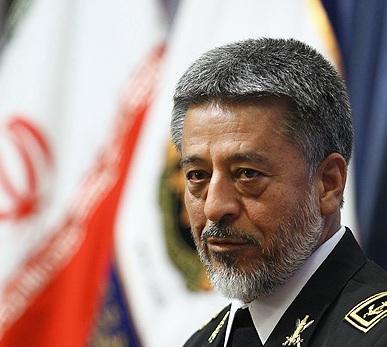 "Photo of Iranian Navy Commander: ""Israel"" Lost Arrogance in Gaza War"
