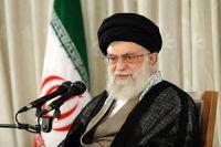 Photo of Leader of Ummah and Oppressed People Imam Khamenei receives Basiji voluntary forces